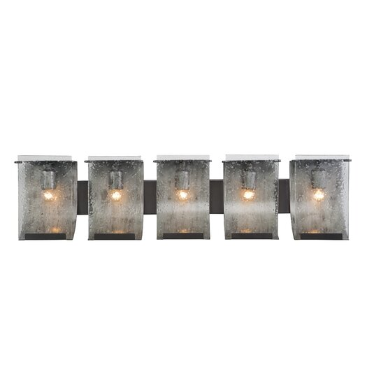 Varaluz Rain Recycled 5 Light Bath Vanity Light