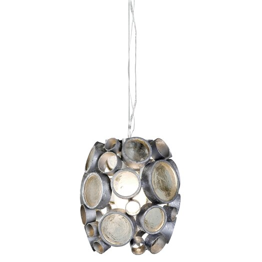 Varaluz Fascination 1 Light Mini Pendant