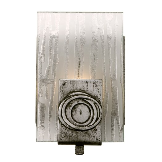 Varaluz Polar 1 Light Recycled Wall Sconce