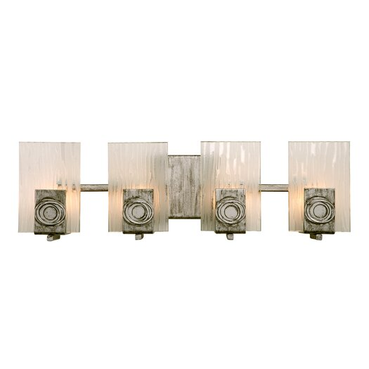 Varaluz Polar Recycled 4 Light Bath Vanity Light