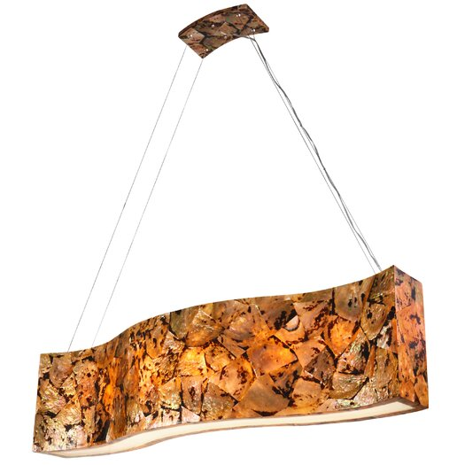 Varaluz Big Linear 6 Light Pendant