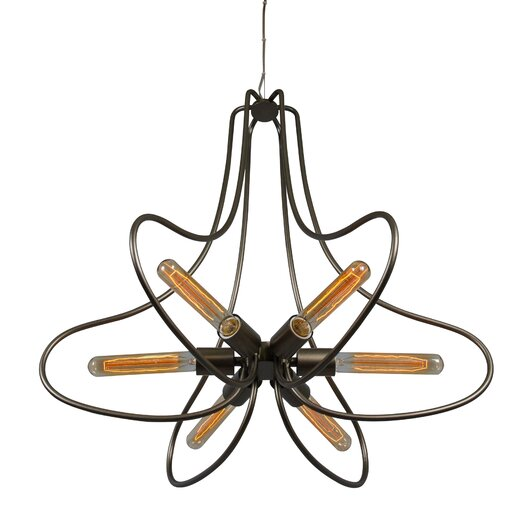 Varaluz The Whole Package 6 Light Chandelier