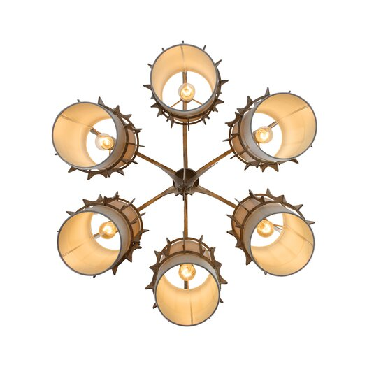 Varaluz Occasion 6 Light Chandelier