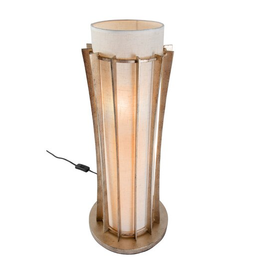 """Varaluz Occasion 24"""" H Table Lamp with Drum Shade"""
