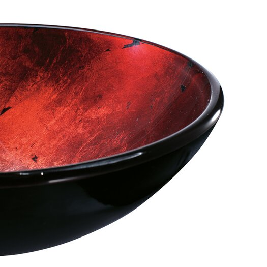 Vigo Inferno Glass Bathroom Sink