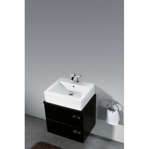 "Vigo Calida 21.63"" Wall Mounted Bathroom Vanity Set"