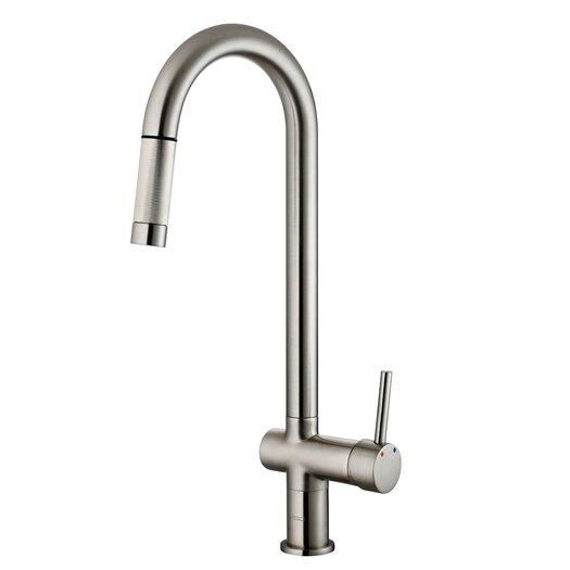 Vigo Savona One Handle Single Hole Pull Out Kitchen Faucet
