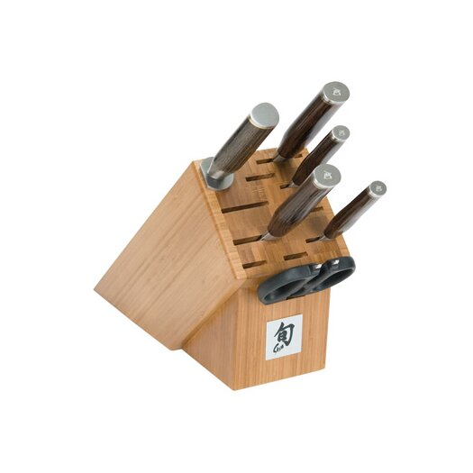 Shun Premier 7 Piece Knife Block Set