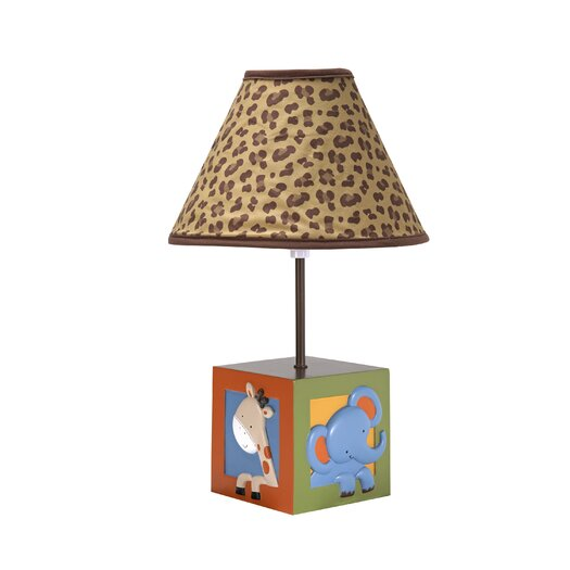 """NoJo Zambia 17"""" H Table Lamp with Empire Shade"""