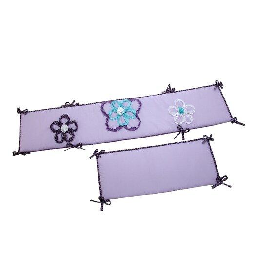 NoJo Harmony 4 Piece Traditional Padded Bumper Set