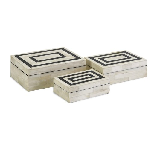 IMAX Bella Bone Inlay Boxes