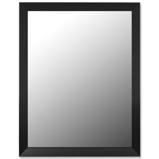 Hitchcock Butterfield Company Angle Iron Black Framed Wall Mirror