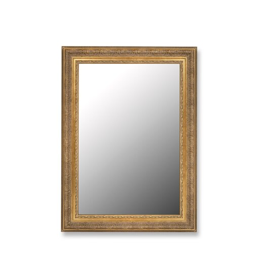 Hitchcock Butterfield Company Milano Golden Classic Framed Wall Mirror