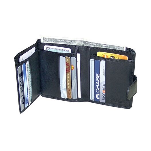 Jack Georges Milano Tri-Fold Women's Wallet