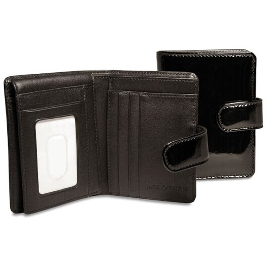 Jack Georges Patent Tri-Fold / French Purse