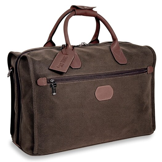 """Jack Georges Nevada 18"""" Leather Carry-On Duffel"""