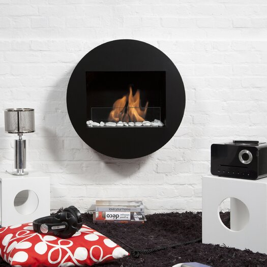 Qwara Wall-Mounted Fireplace