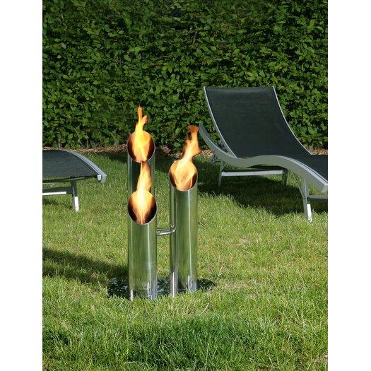 Bio-Blaze Outdoor Pipes Fire Columns