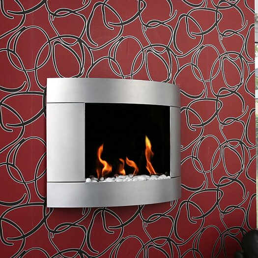 Diamond I Bio Ethanol Fireplace