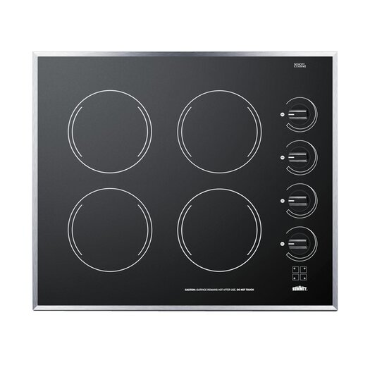 "Summit Appliance 24"" Electric Cooktop"