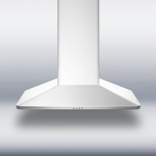 "Summit Appliance 26.63"" 650 CFM European Style Wall Mount Range Hood"