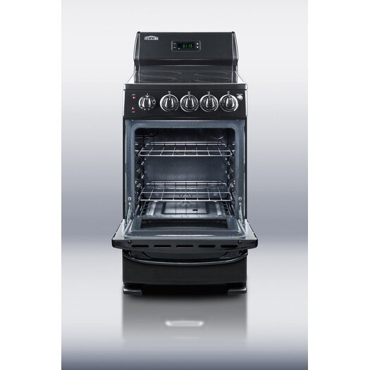 Summit Appliance Deluxe 2.62 cu. Ft. Electric Free-Standing Range