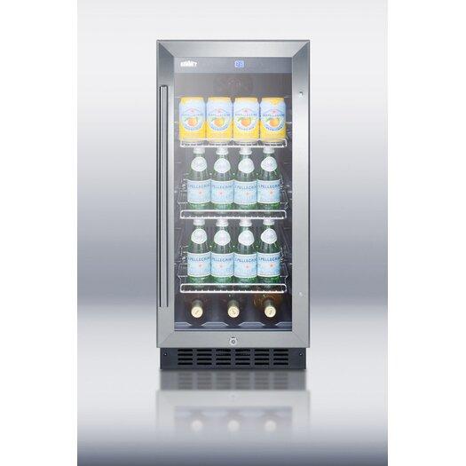 Summit Appliance Single Zone 3 Bottle Thermoelectric Wine Refrigerator