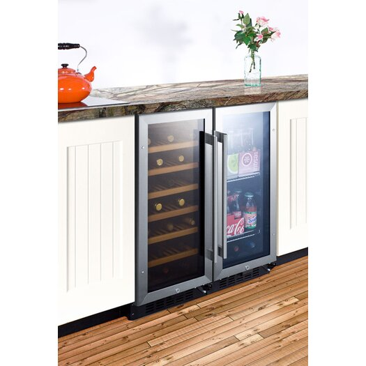 Summit Appliance 21 Bottle Single Zone Thermoelectric Wine Refrigerator