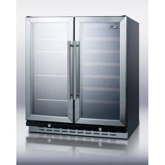 Summit Appliance Dual Zone Wine Refrigerator