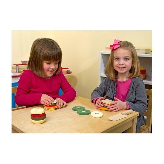 Melissa and Doug 17 Piece Play Food Sandwich Making Set