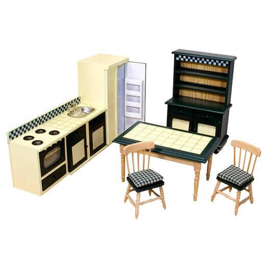 Melissa and Doug Dollhouse Kitchen Furniture