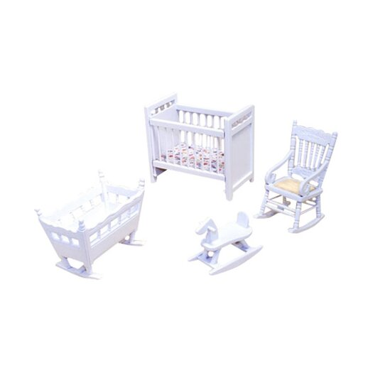 Melissa and Doug Dollhouse Nursery Furniture
