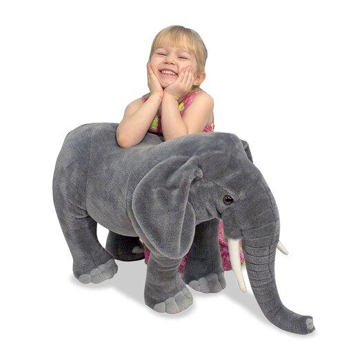 Melissa and Doug Elephant Plush Stuffed Animal