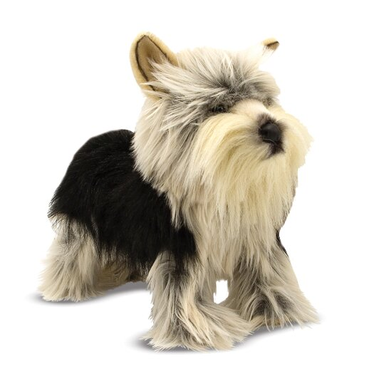 Melissa and Doug Yorkshire Terrier Plush Stuffed Animal