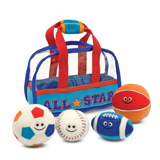 Melissa and Doug Sports Bag Fill and Spill