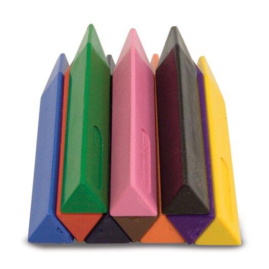 Melissa and Doug 10 Jumbo Triangular Crayons