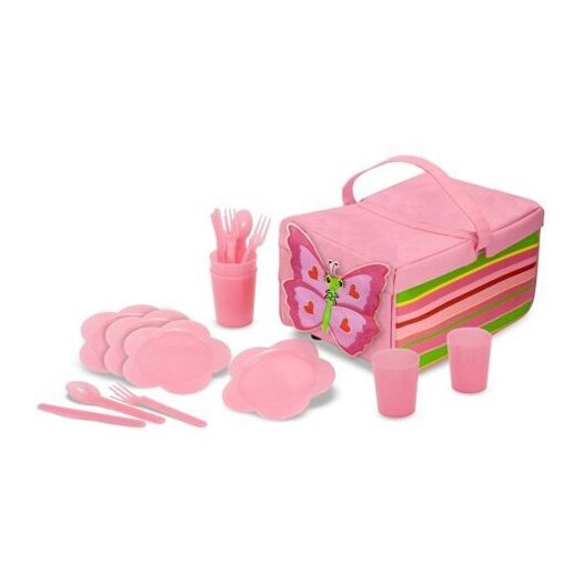 Melissa and Doug 5 Piece Bella Butterfly Picnic Set