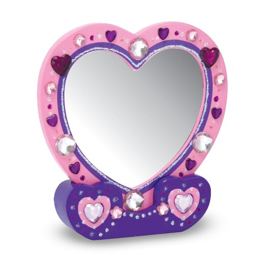 Melissa and Doug Heart Mirror DYO