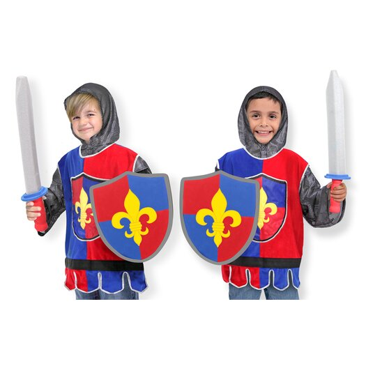 Melissa and Doug Knight Role Play Costume Set