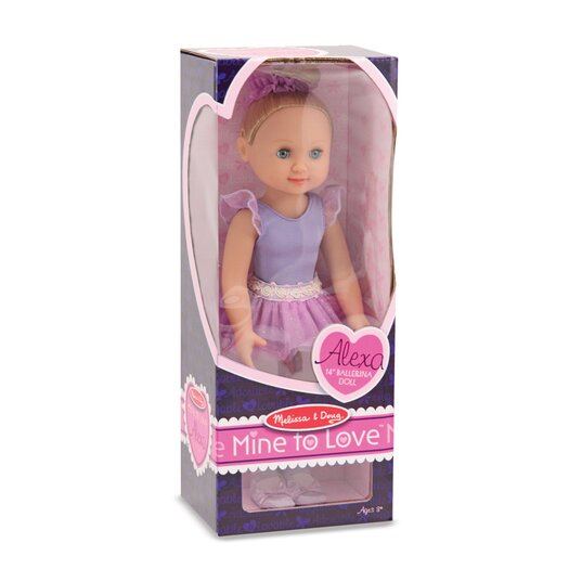 "Melissa and Doug Alexa 14"" Ballerina Doll"