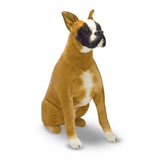 Melissa and Doug Boxer Plush Stuffed Animal