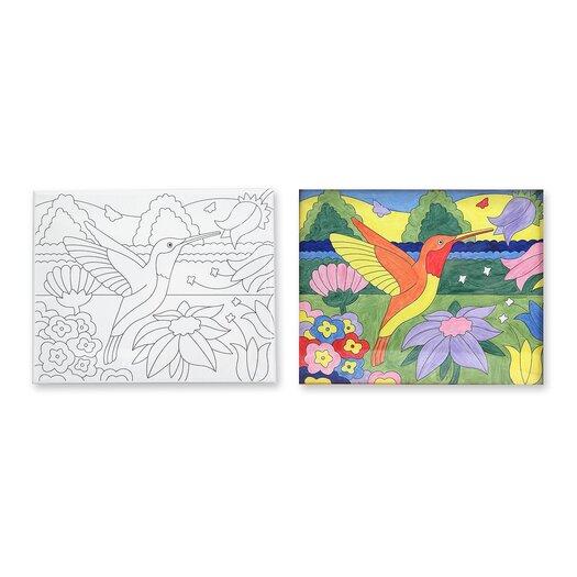 Melissa and Doug Hummingbird Canvas Creations