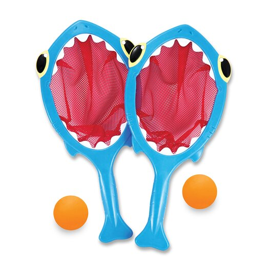 Melissa and Doug Spark Shark Toss and Catch Pool Game