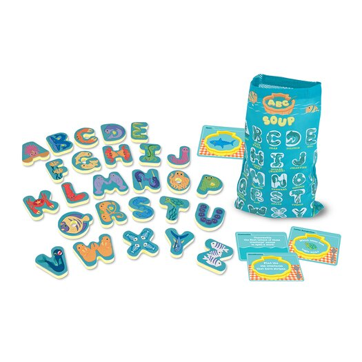 Melissa and Doug Undersea Alphabet Soup Game