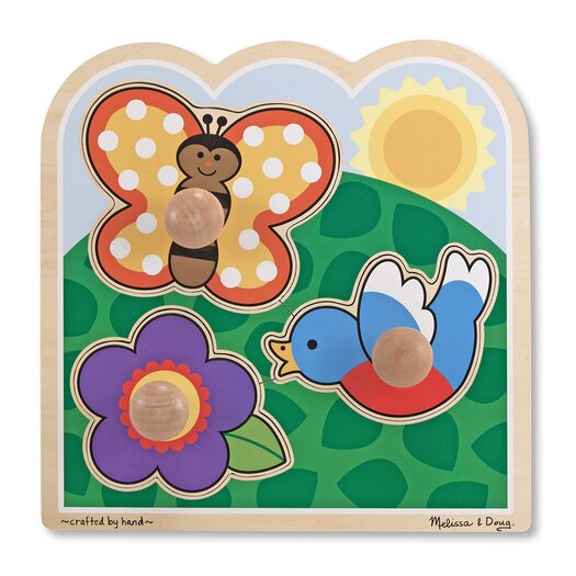 Melissa and Doug In The Garden - Jumbo Knob