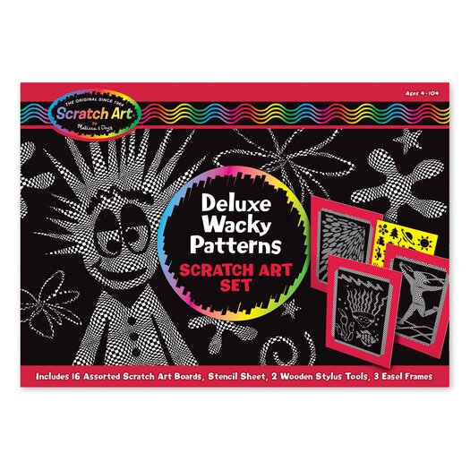 Melissa and Doug Deluxe Wacky Patterns Set