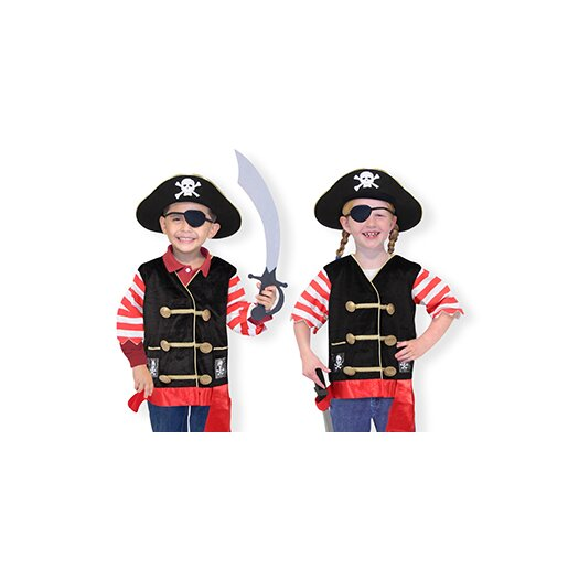 Melissa and Doug Pirate Costume Role Play Set