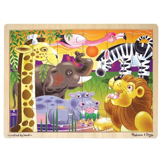 Melissa and Doug African Plains Wooden Jigsaw Puzzle