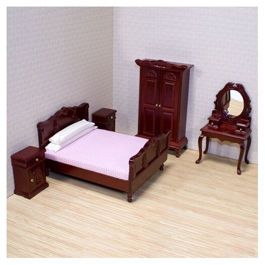 Melissa and Doug Dollhouse Bedroom Furniture