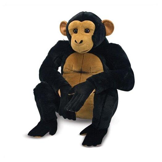Melissa and Doug Chimpanzee Plush Stuffed Animal